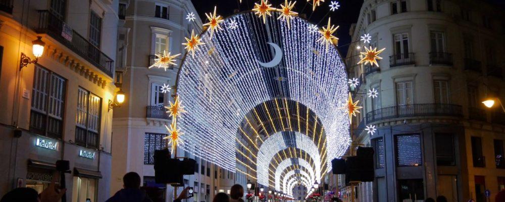 alumbrado navideño calle larios malaga